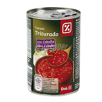 DIA Tomate triturado con cebolla Lata 380 gr