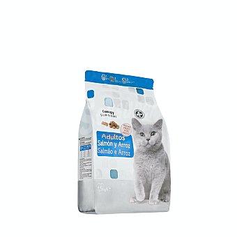 Compy Comida de gato croqueta de salmón fresco arroz supreme Paquete 1,5 kg