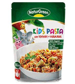 Naturgreen Pasta Kids con Tomate y Verduras Bio 150 g