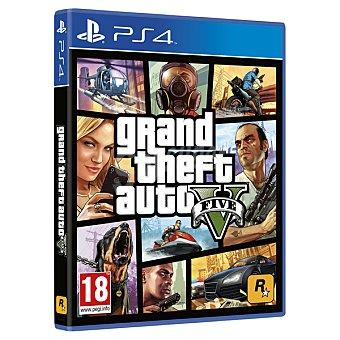 PS4 Videojuego Grand Theft Auto V  1 Unidad