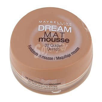 Maybelline New York Maquillaje dream mat mousse 32 golden 1 ud