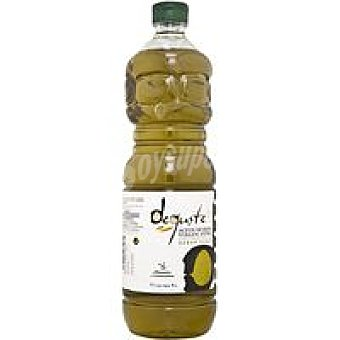 Deguste Aceite virgen extra suave Botella 1 litro