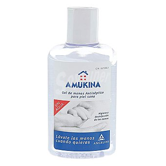Amukina Gel de manos antiséptico y sin agua 80 ml