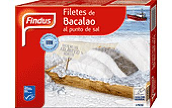 Findus FILETES BACALAO P.SAL 300 GRS