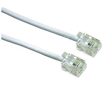 SELECLINE Cable de teléfono (producto económico alcampo) RJ11, longitud 5 metros,