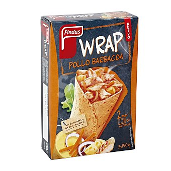 Findus Wrap pollo barbacoa pack 2x150 g