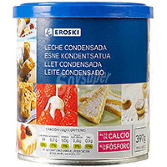 Eroski Leche Condensada Lata 397 g