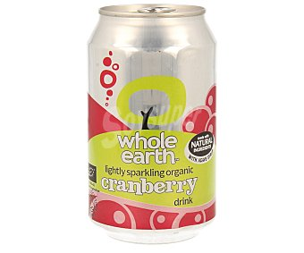 WHOLE EARTH Refresco de arándanos biológico Lata de 33 ml