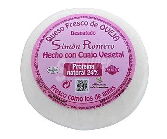 SIMÓN ROMERO Queso fresco de oveja desnatado 375 g