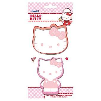 STOR Baking Cortadores de galletas Hello Kitty set 2 unidades 2 unidades