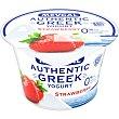 Yogur griego de fresa 0% m.g Envase 150 g Mevgal