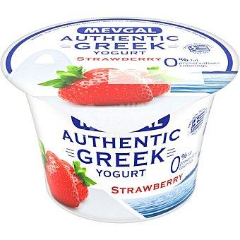 Mevgal Yogur griego de fresa 0% m.g Envase 150 g