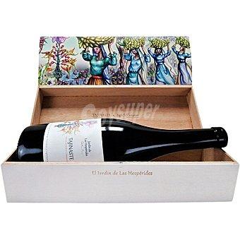 Tajinaste Vino tinto malvasía aromática y marmajuelo de Canarias Estuche Edición Especial botella 75 cl botella 75 cl