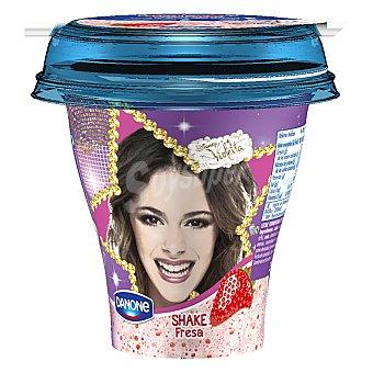 Danone Yogur líquido Shake fresa-violeta 250 g