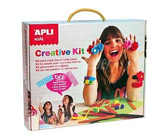 APLI Kit maleta creativa diy, hazlo tu mismo, crea tus propias joyas 1 unidad
