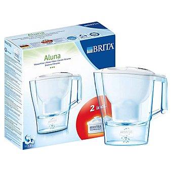 Starter Aluna jarra de filtro con 2 recambios en color blanco 2,4L