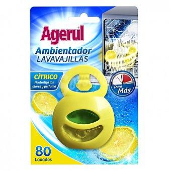 Agerul Ambientador de lavavajillas aroma cítrico 1 ud 80 lavados