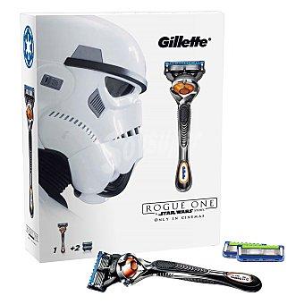 Gillette Pack afeitado fusion proglide flexball manual (maquinilla + 2 recambios) 3 unidades