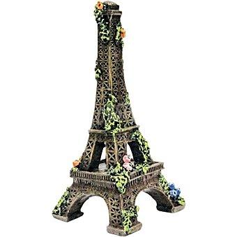 San Dimas Accesorio decorativo para acuario modelo Torre Eiffel medida 15 cm 1 unidad 1 unidad