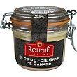 Bloc de foie gras de pato  bote 180 g Rougie