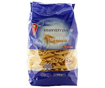 Auchan Macarrones, paquete 500 gramos