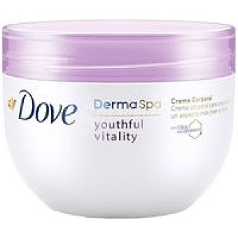 Dove Crema corporal Dermaspa Youthful tarro 300 ml