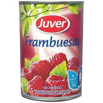 Juver Frambuesas en Almíbar 125 g