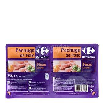 Carrefour Pechuga pollo fina loncha 200 g
