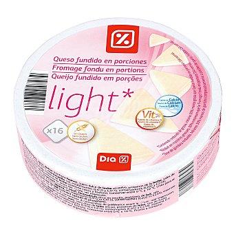 DIA Queso fundido light 16 porciones caja 250 g 250 g