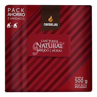 Candelas Café molido natural Pack 2x250 g