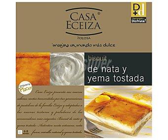 Casa Eceiza Tarta de yema tostada con nata 550 gr