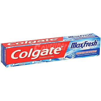Colgate Max Fresh Dentífrico menta fuerte Tubo de 75 ml