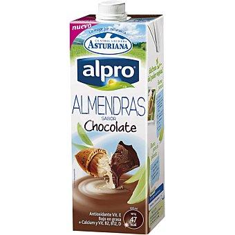 Alpro - Central Lechera Asturiana Bebida de almendras con sabor a chocolate 1 l