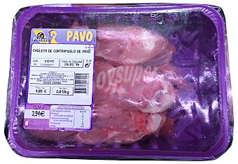 Procavi Pavo chuletas fresco Bandeja 700 g peso aprox.