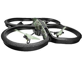 PARROT AR. 2.0 ELITE Drones con pilotaje intuitivo viendo el recorrido en primera persona a través de la pantalla de tu dispositivo móvil, Edition Jungle, control fpv, vídeo HD, 50 metros de rango, sensor de estabilidad, permite hacer loopings, autonomía 12 minutos, conexión Wi-Fi.