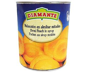 Conservas Diamante Melocotón en almíbar Lata 480 g (peso neto escurrido)