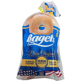 BAGEL NASH Bagels originales rosquillas de pan Bolsa 460 g