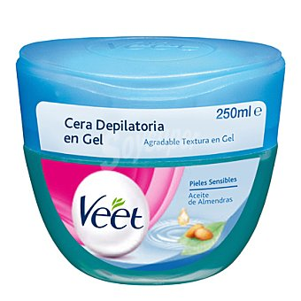 Veet Depilatorio Cera en gel piel sensible 250 ml