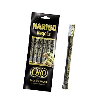Haribo Regaliz oro negro Bolsa 108 g