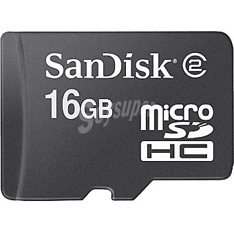 SANDISK Tarjeta de memoria Micro sdhc de 16 GB