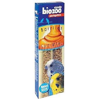 Biozoo Axis Barritas con miel para periquitos Envase 2 unidades