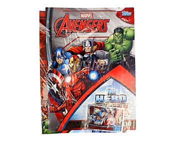 Marvel Pack de inicio para la colección de cromos Los Vengadores, Avengers, 1 unidad