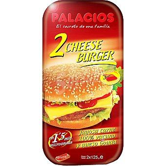 Palacios Cheese burger con queso gouda 2 unidades envase 250 g 2 unidades