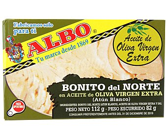 Albo Bonito en Aceite de Oliva Virgen Extra 82 g
