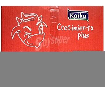 Kaiku Leche energía y crecimiento 6 Unidades de 1 Litro
