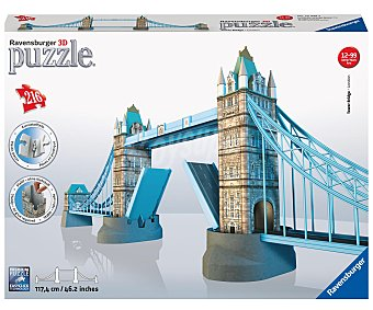 RAVENSBURGER Puzzle 3D Torre del Puente de Londres, 216 Piezas 1 Unidad