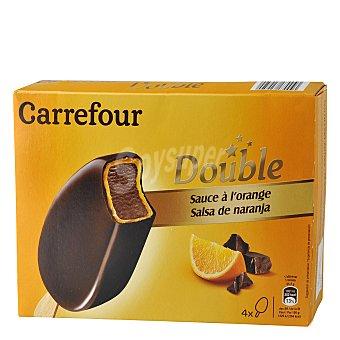 Carrefour Helado de Chocolate y Naranja 4 ud