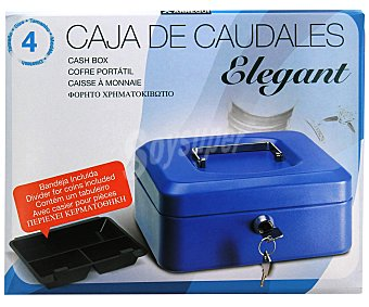 ARREGUI Caja de Caudales T4 con Sistema de Apertura y Cierre Mediante Llave. 300x90 Milímetros 1 Unidad