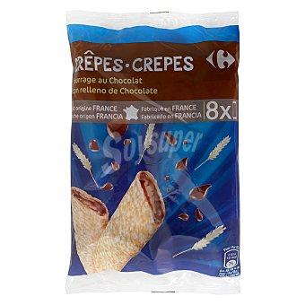 Carrefour Crepes rellenos de chocolate 256 g