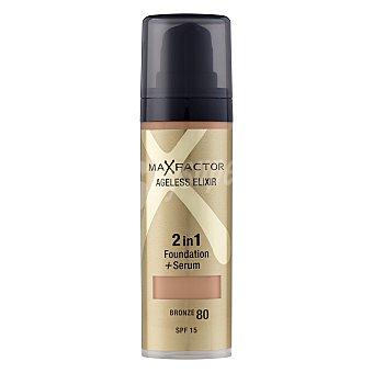 Max Factor Maquillaje ageless elixir 2 en 1 nº 80 Bronze 1 ud